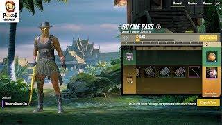 season3 is here II lets play pubgmobile II playing with subscriber II not buying elite season 3 pass