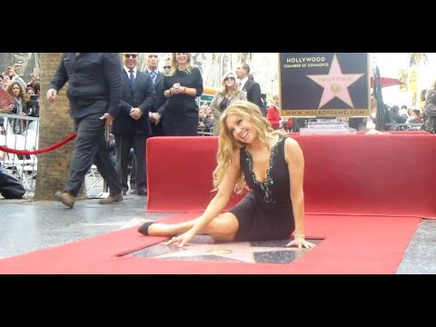 Thalia Honored With Star at the Hollywood Walk of Fame