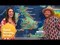 The Weather Forecast with Keith Lemon | Good Morning Britain