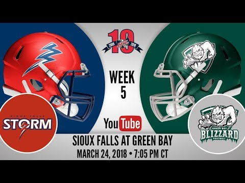 Week 5 | Sioux Falls Storm At Green Bay Blizzard