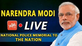 Modi LIVE | Modi Dedicates the National Police Memorial to the Nation