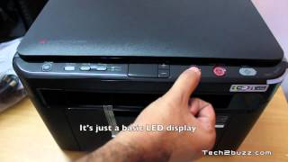 Samsung Laser Printer SCX 3206W Unboxing & Overview