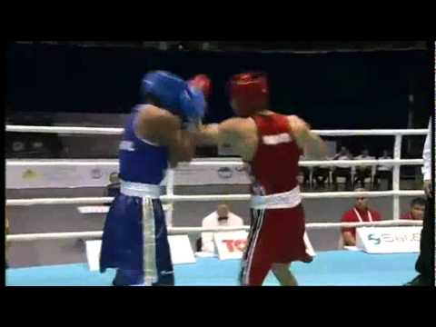 Middle (75kg) SF - Murata Ryota (JPN) VS Falcao Esquiva (BRA) - 2011 AIBA World Champs