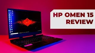 HP Omen 15 (RTX 2060) Review: It's Hot!