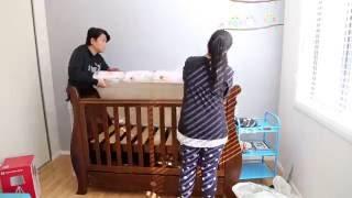 Nursery Room Transformation & Timelapse
