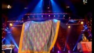 Valeriy Bastrakov with folklor magic act on TV Show LE GRAND CABARE DU MONDE 2007