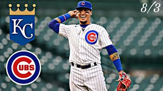 Cubs vs Royals Highlights | 8/3
