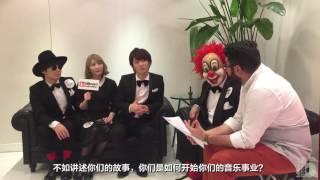 Billboard Radio China - 10 Questions with SEKAI NO OWARI