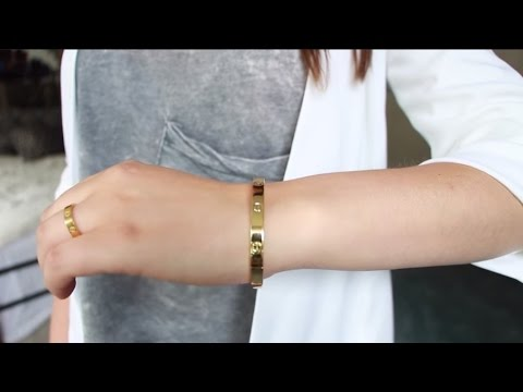 FAKE FRIDAYS: Cartier Love Bracelet and Ring Dupe 3$