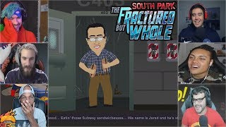 Gamers Reactions to Jared From Subway Intro   South Park™: The Fractured But Whole