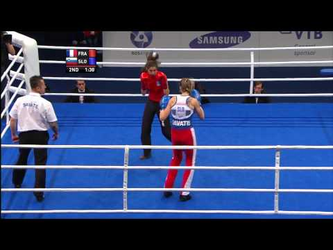 Savate Womens Combat  70kg Final Image 1