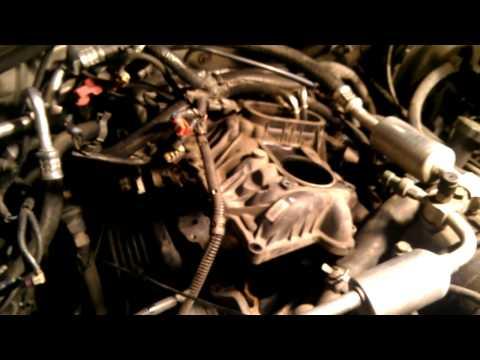 1999 Chevy Tahoe 5.7L V8 fuel pressure regulator.mp4