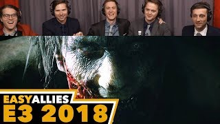 Resident Evil 2 - Easy Allies Reactions - E3 2018