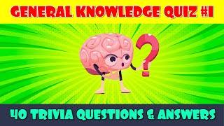 Pub Quiz General Knowledge  Pub Trivia Quiz  Virtual Pub Quiz  40 Trivia Questions amp Answers