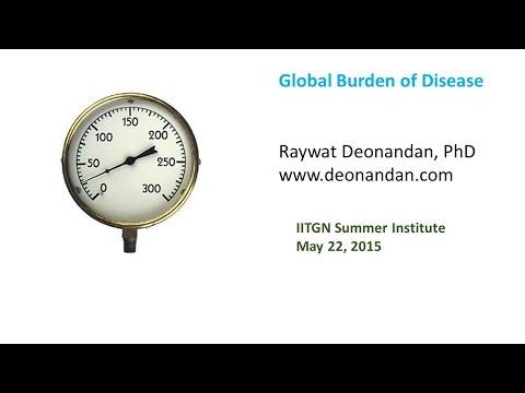 IITGN Summer Institute - The Global Burden of Disease