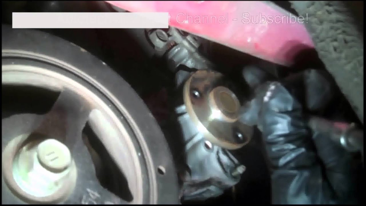 Water Pump Replacement 2000 Toyota Echo 1 5l 2000 2005