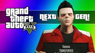 GTA 5 Next Gen Funny Moments - Zombie Face, First Person, Twist Glitch, New Plane, & More!