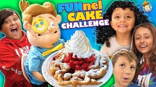 DIY FUNnel Cakes - Who Has What It Takes to Make? (FV FAMILY Vlog/Challenge)