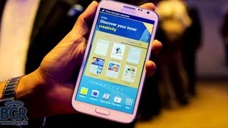 Samsung Galaxy Note 2 Hands-on Review in India