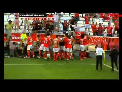 Goal Markovic , Lima ~ Benfica 2-1 Gil Vicente  ~ 25 08 2013