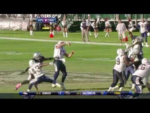 Oakland Raiders Break San Diego Chargers Win Streak in Oakland - 10/10/10