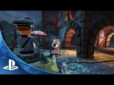 World War Toons - E3 Trailer | PS4