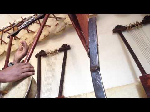 Krar Ethiopian Traditional Music Instrument የክራር ጨዋታ