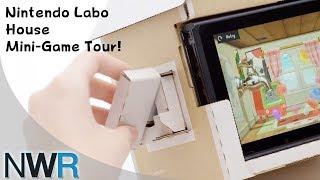 Nintendo Labo House Mini-Game Tour
