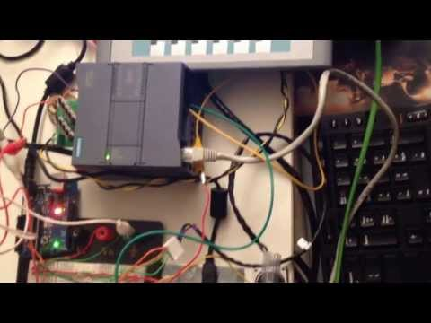 Siemens S7-1200 1212C PLC Interfacing with Arduino. Энергомера АСКУЭ на ос