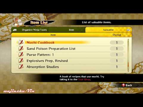 Naruto Ultimate Ninja Storm 3 Blueprint Compilations (Read the