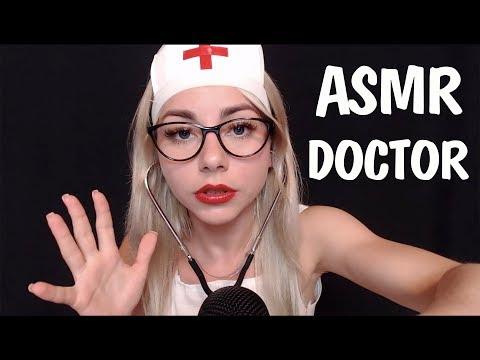 АСМР Ролевая игра Врач 👩⚕️ Медицинский осмотр  🚑 | ASMR Roleplay Doctor Examination 💊💉🎧