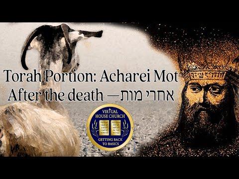 2021 Virtual House Church - Bible Study - Week 29: Aharei Mot