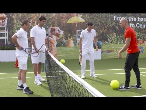 Wimbledon Skills With Tennis Legends
