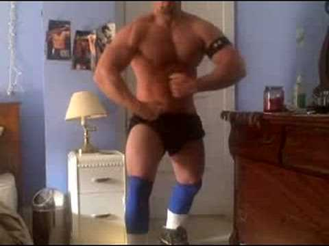 MUSCLE FLEXING JOCK IN PA! Video