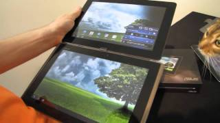ASUS Transformer Prime Tegra 3 Tablet Unboxing & First Look Linus Tech Tips