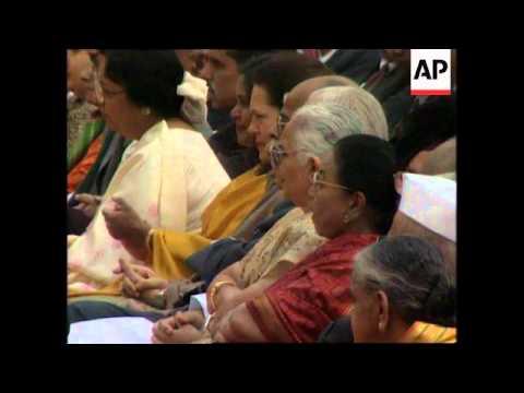 INDIA: NEW PREMIER ATAL BEHARI VAJPAYEE SWORN IN