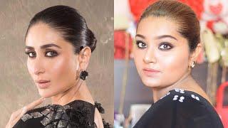 Kareena Kapoor Smokey kajal inspired makeup look! | Celebrity inspired makeup look