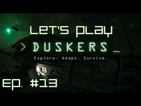 Exploring a very large barge - Ep. #13 - Let's play: Duskers (v0.283-future)