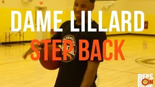 Tutorial Dame lillard step back