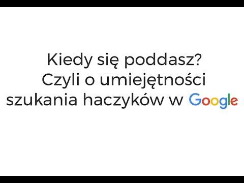 #zPierwszejReki: Jak Wygląda REKRUTACJA W GOOGLE?