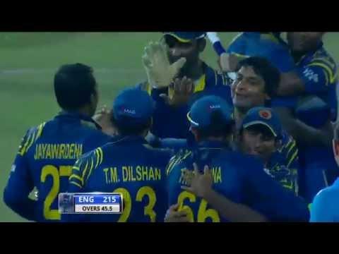 Stumped Kumar Sangakkara bowled Mahela Jayawardene