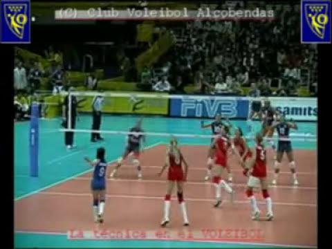 Técnica voleibol: Pase colocación