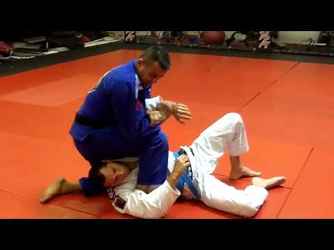 Jiu Jitsu Techniques - Attacks From Side Control - Kimura / Armbar Image 1