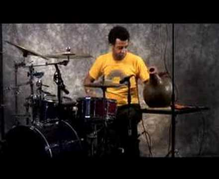 Emilio Valdes, son of Chucho performs solo on Udo and drumse Music Videos