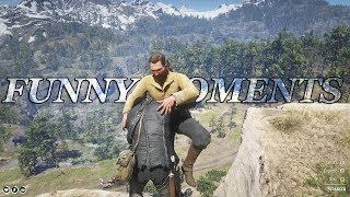Red Dead Redemption 2 - Funny & Random Free Roam Gameplay Moments - Vol.22