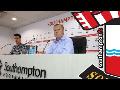 PRESS CONFERENCE: Ronald Koeman & José Fonte pre-Bayer 04 Leverkusen