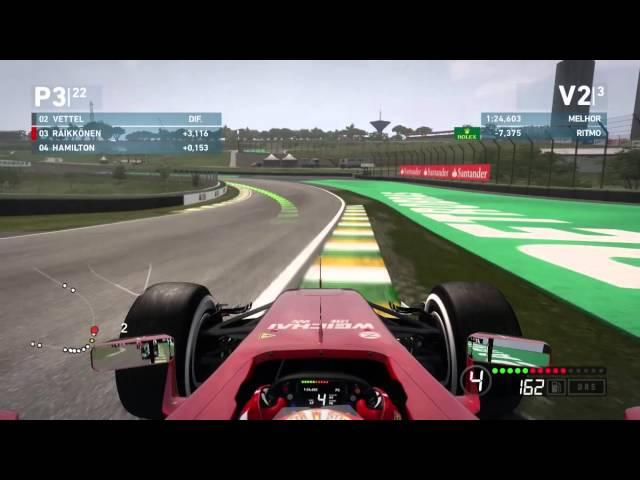 Formula 1 2014 GP DO BRASIL - GAMEPLAY PT BR