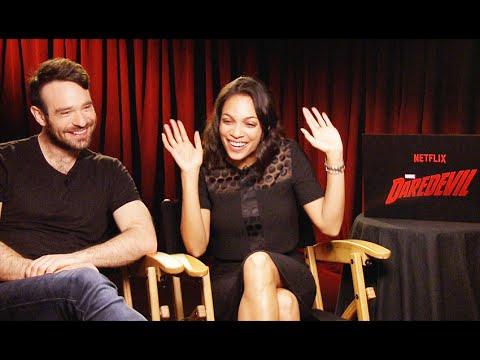 Rosario Dawson and Charlie Cox Interview: Actors Talk Daredevil Show