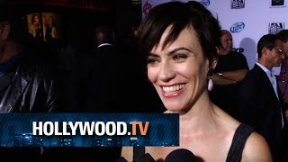 Maggie Siff at SOA Season 6 Premiere - Hollywood.TV