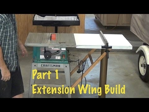 Extend Rip Capacity From 12 Quot To 40 Quot Extension Wing Build